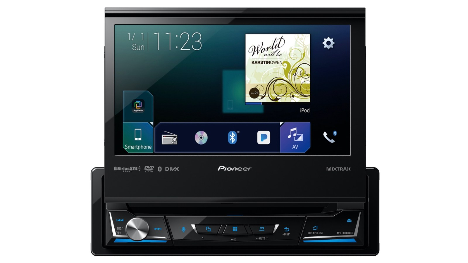 Pioneer launching 5 new aftermarket CarPlay receivers including 7-inch single-DIN model