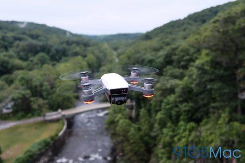 11 DJI Spark Drone hovering QuadCopter UAV Small Mini-1010
