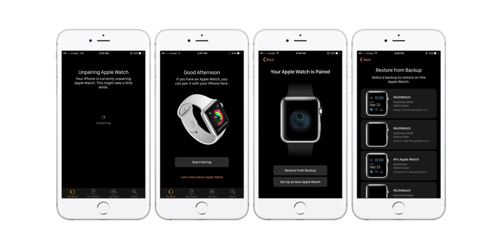 promo code 947b6 76a97 How to restore Apple Watch from an iCloud Backup - 9to5Mac