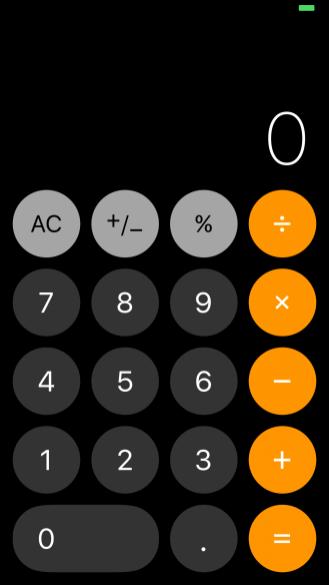 iOS 11 Redesigned Calculator
