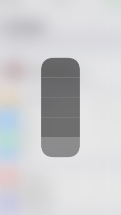 iOS 11 Control Center 3D Touch Flashlight