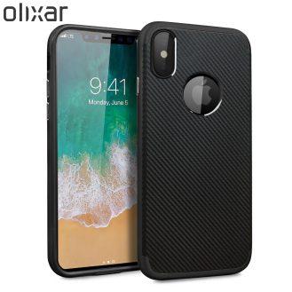 Olixar-X-Duo-iPhone-8-Case-Black