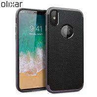 Olixar-X-Duo-iPhone-8-Case-Grey