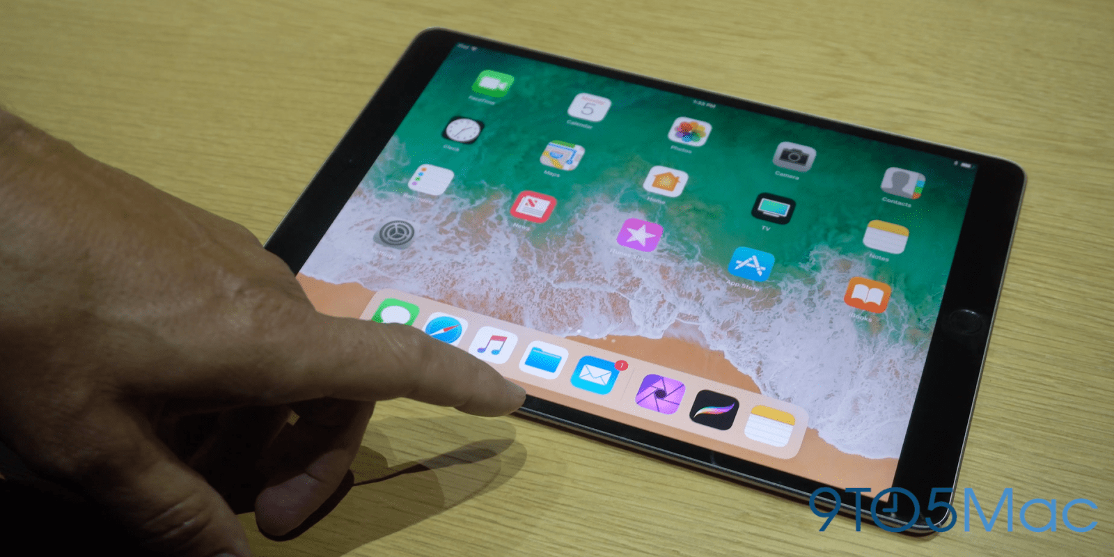 Hands-on with iOS 11 features on the new 10.5-inch iPad Pro