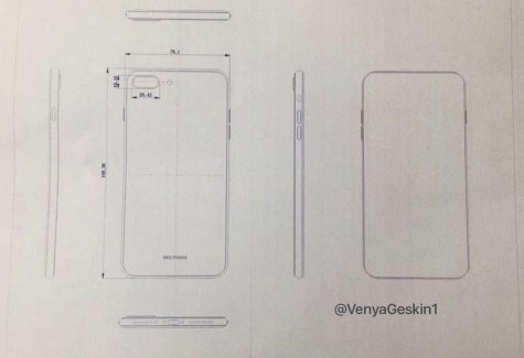 Purported iPhone 8 drawings