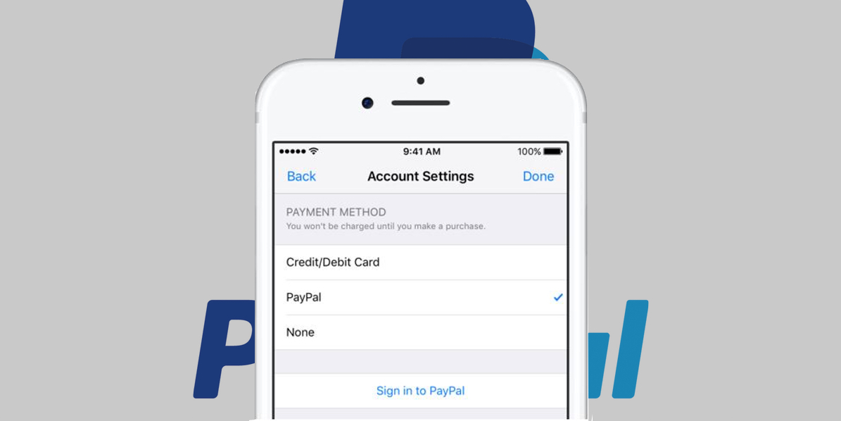 Apple adds PayPal as payment option for the App Store, iTunes Store and Apple Music