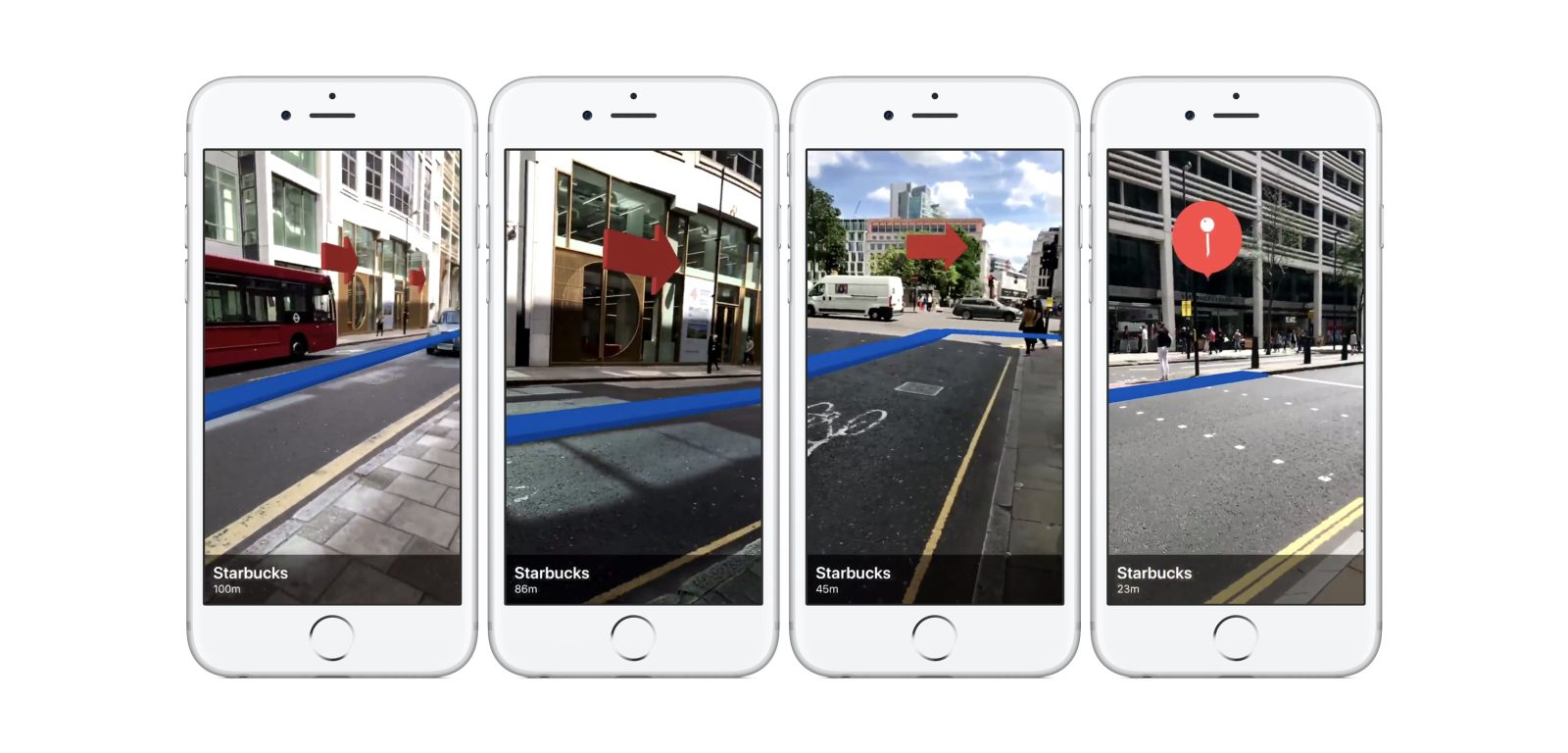 iOS 11 ARKit demo showcases real world navigation and Maps POI - 9to5Mac