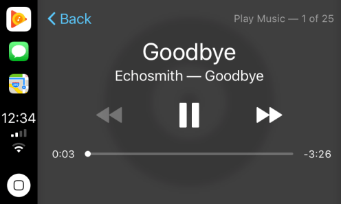 Google Play Music CarPlay 2
