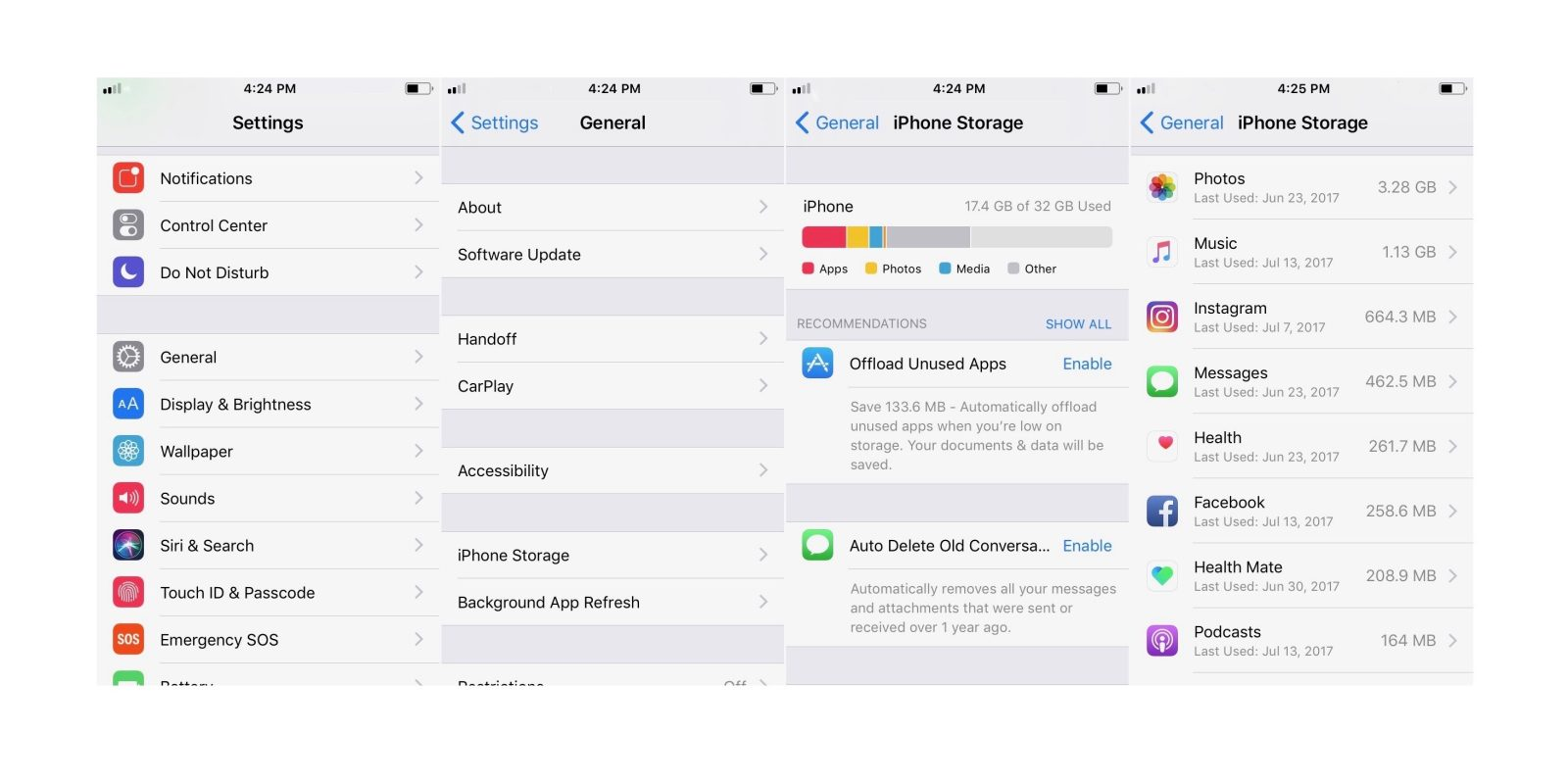iOS 11: How to easily free up storage space on iPhone and
