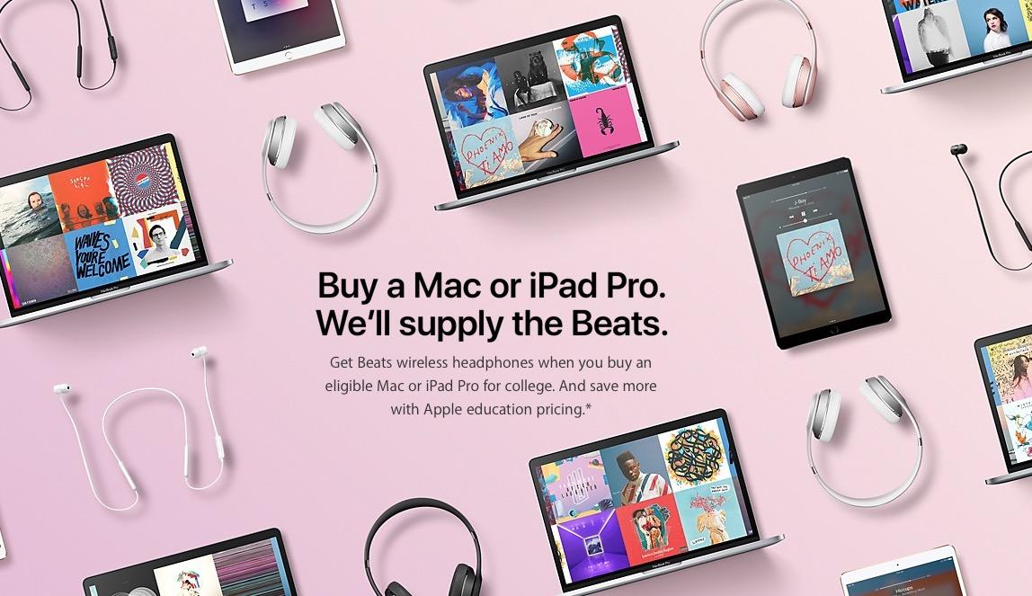 Apple beats giveaway