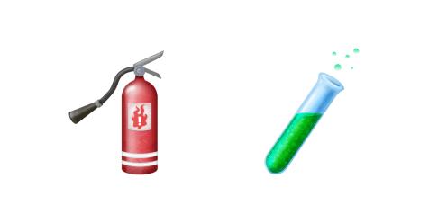 fire-extinguisher-test-tube-emojis-emojipedia