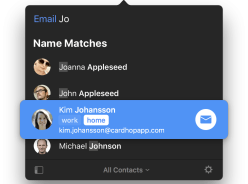 Email Action