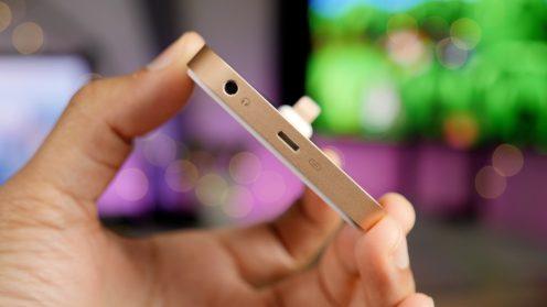 iPhone 8 Lightning Dock Gold 3.5mm headphone jack