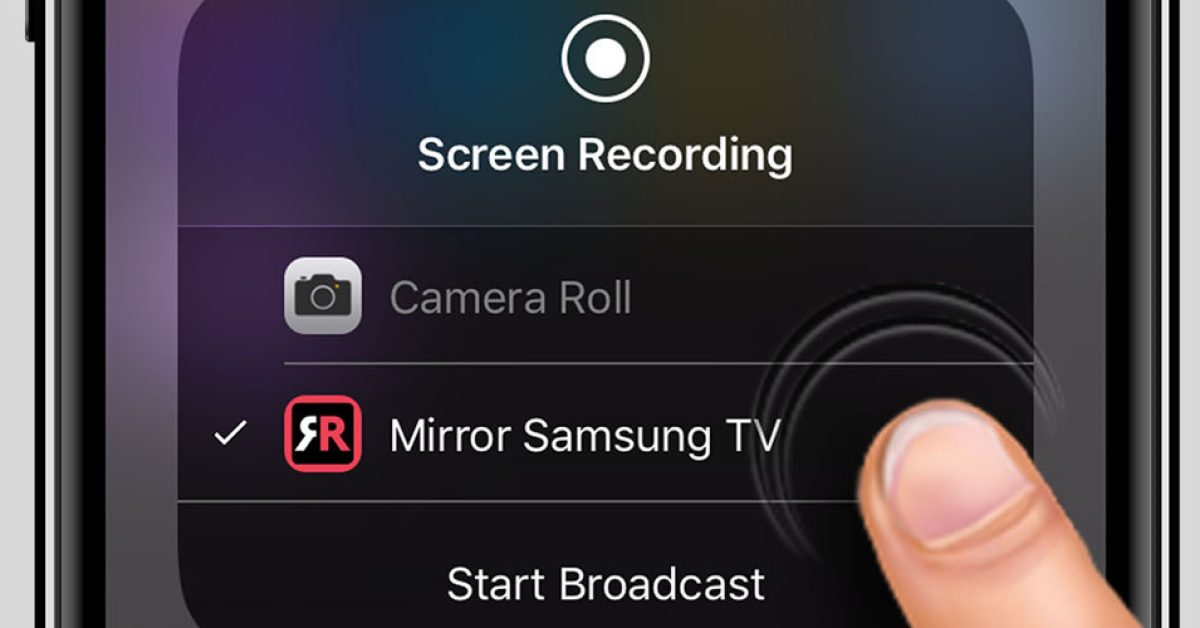 Latest Airbeamtv App Lets You Mirror, How To Mirror Iphone 11 Samsung Tv