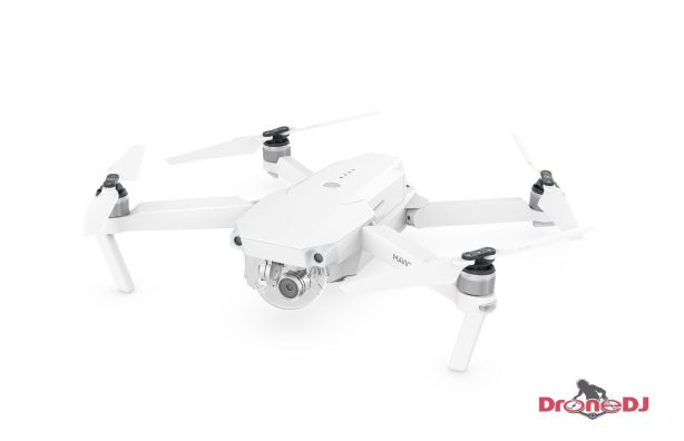 DJI offers all-white Mavic Pro drone for holiday season - limited edition side top