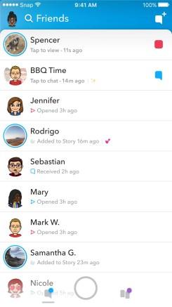 Snapchat Redesign 6