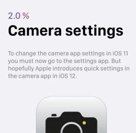 12 iOS 12 wishlist camera settings