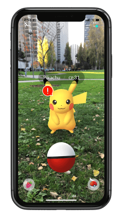 Pokemon GO ARKit 4