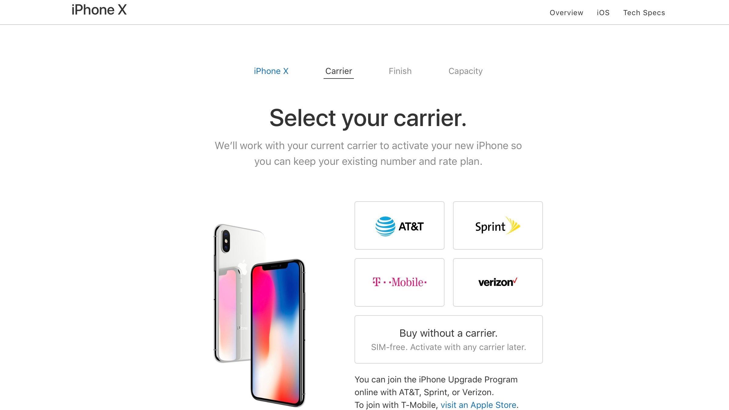 Apple Begins Selling Unlocked Sim Free Iphone X In The