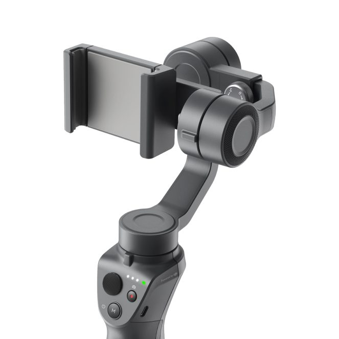 DJI reveals new Osmo Mobile 2 gimbal stabilizer ahead of CES 2018 0001