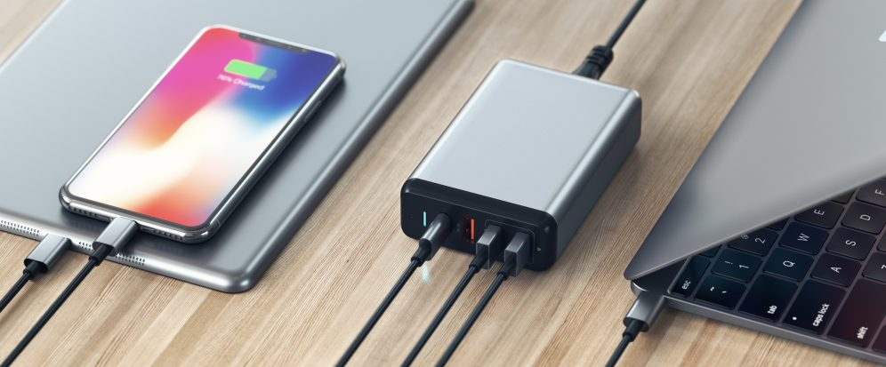 Satechi Type-C Multiport Travel Charger 6