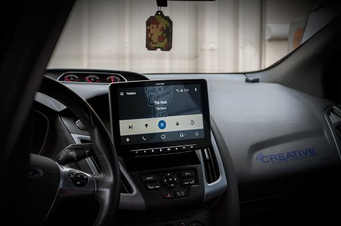Alpine HALO9 Android Auto