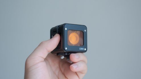 Lume Cube with warming gel