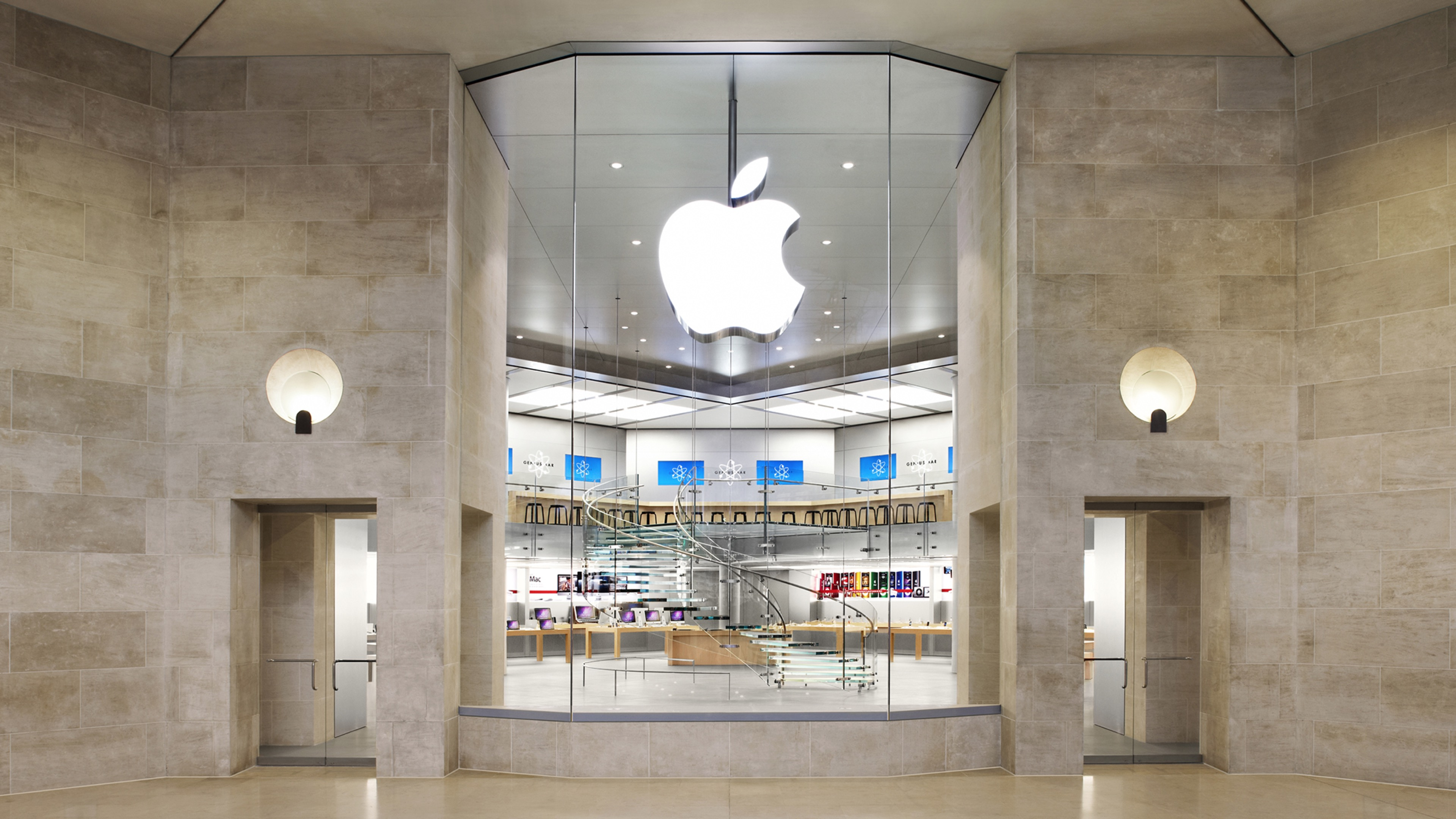 Historic Champs     lys    es Apple store opening in November  Carrousel     Apple Carrousel du Louvre