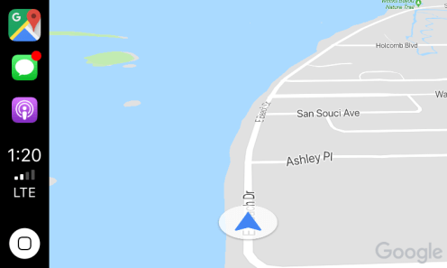 google maps carplay 3