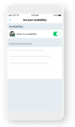 twitter demo availability