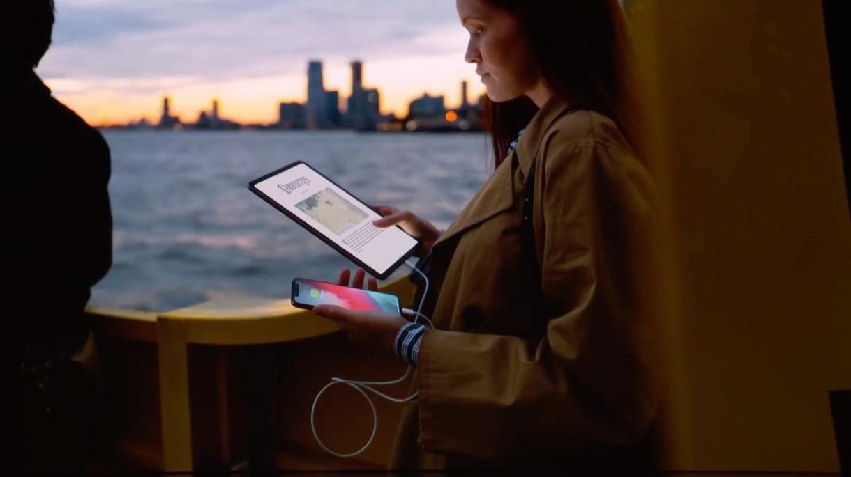 ipad pro charging - جميع الأجهزة التي تستطيع أجهزة آيباد برو الجديدة الاتصال بها