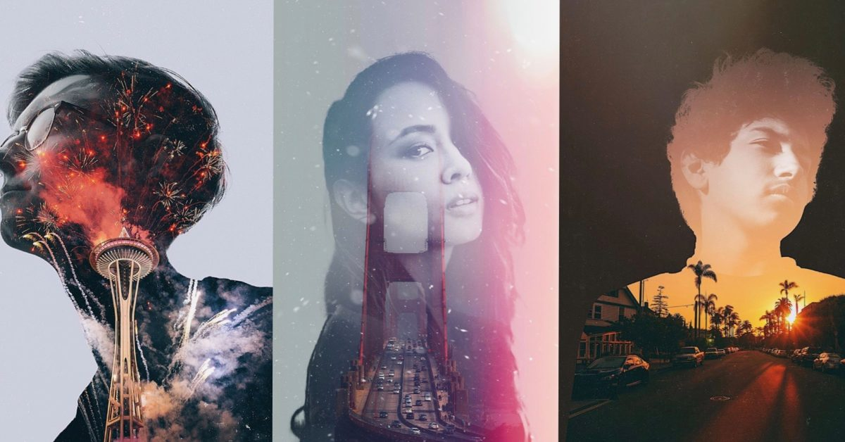 Fuzion app for iOS brings effortless double exposures and image blending to iPhone Portrait photos - 9to5Mac