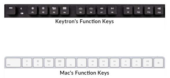 slim Mac wireless mechanical keyboard