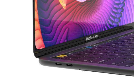 MacBook Pro concept white 3