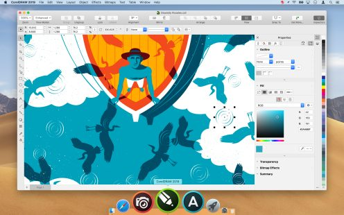 Coreldraw Graphics Suite 2019 Comes To Mac With Mojave Dark Mode