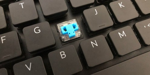Keychron K1 Fraly Blue swtiches