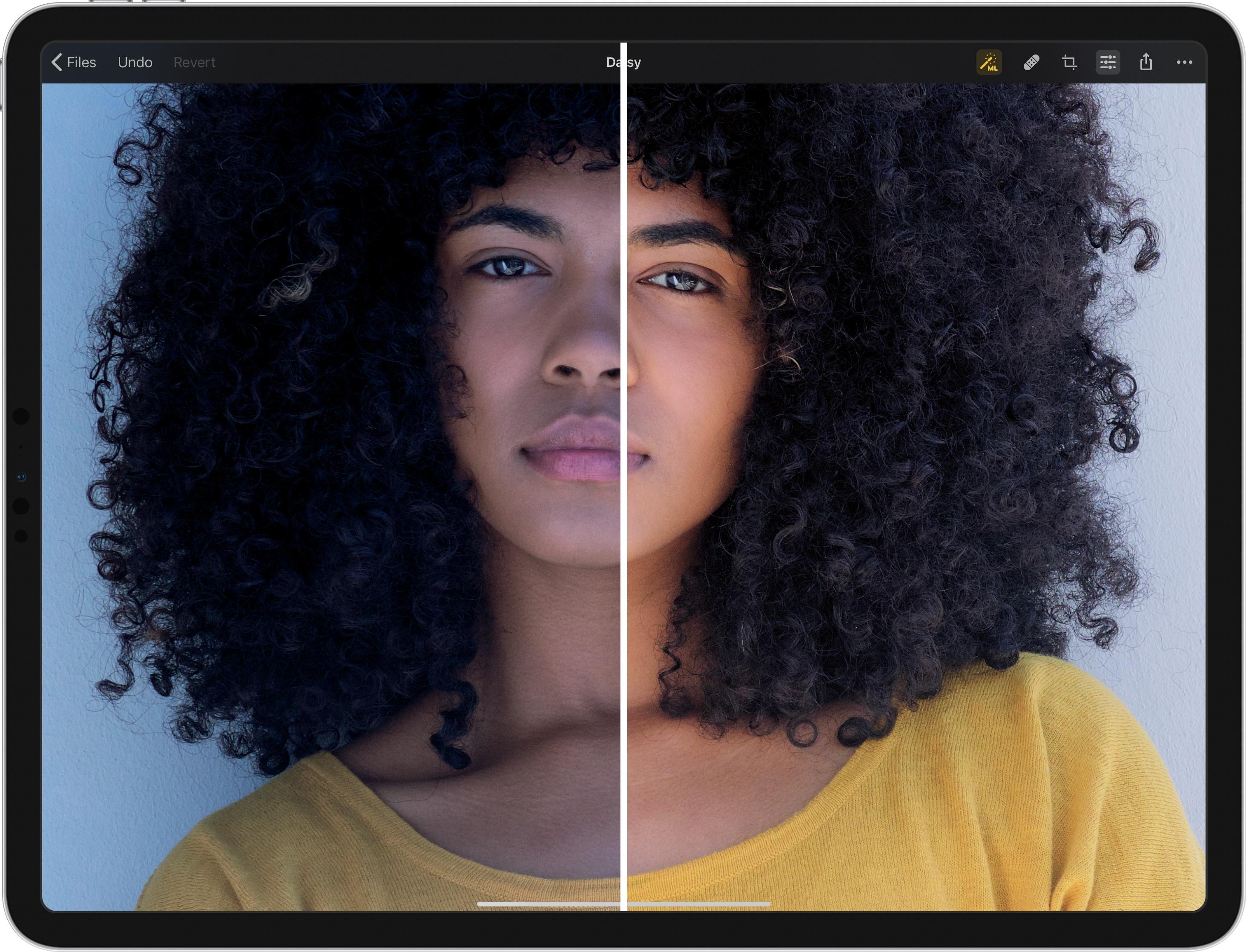 Pixelmator Photo — ML Enhance