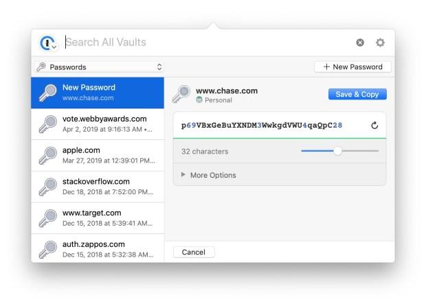 1Password update Mac