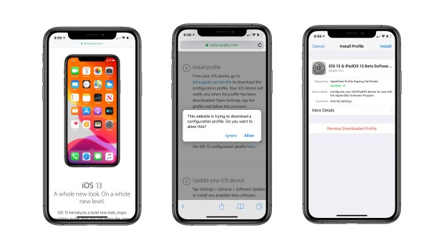 Top new features of the iOS 13, iOS 13 Public Beta is