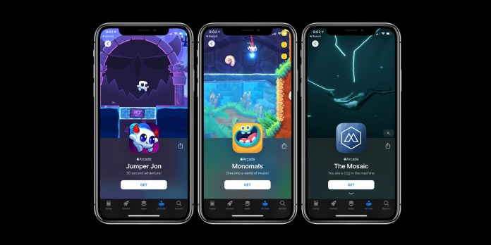 Apple Arcade new games November 1