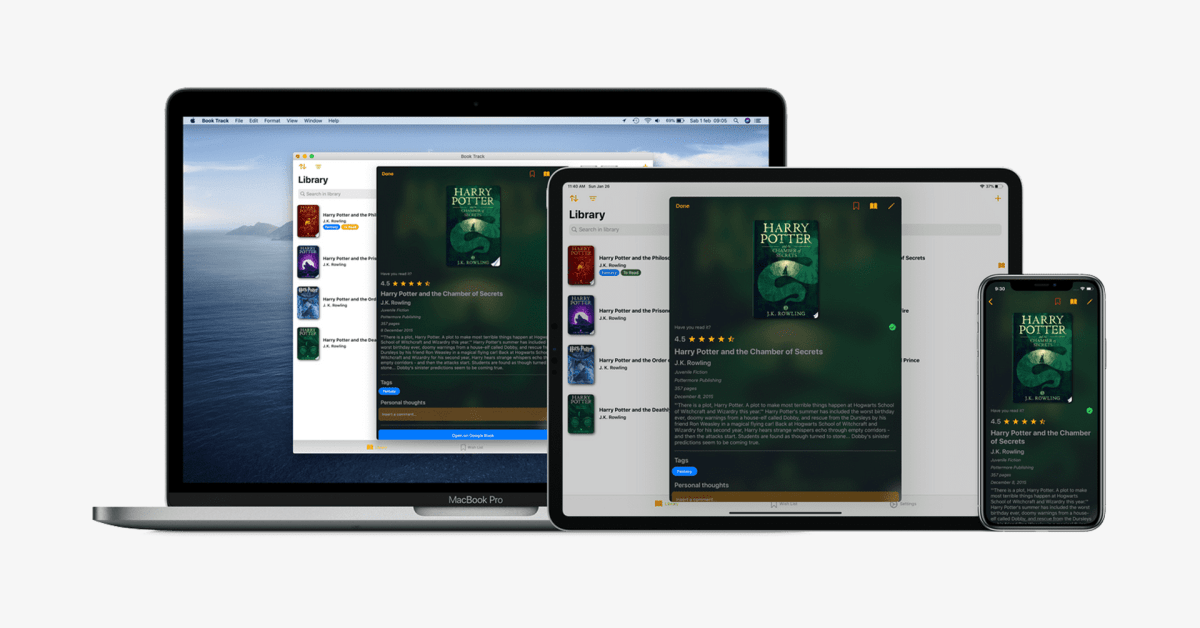 Book Track is an app that lets you organize your entire book collection in one place - 9to5Mac