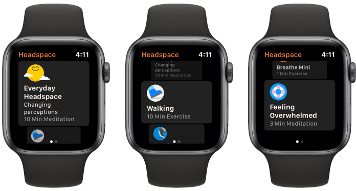 How to relax with Apple Watch walkthrough 2