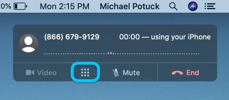How to make calls Mac walkthrough 2