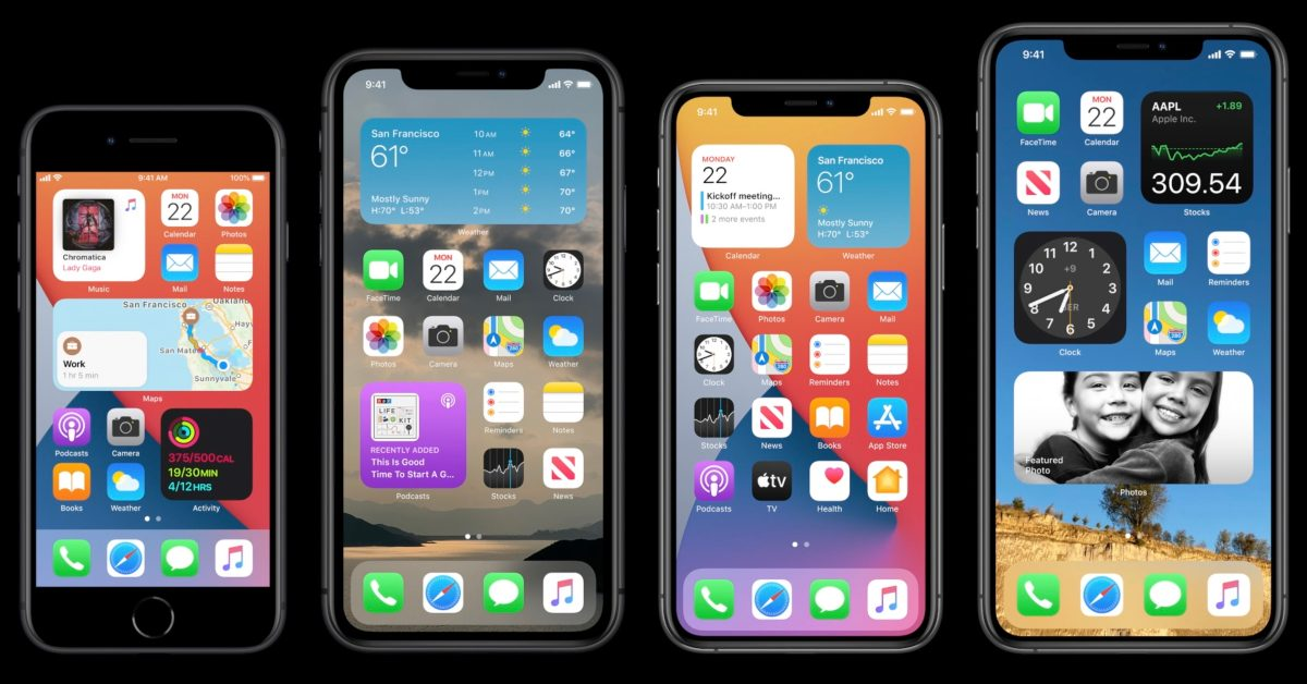 Apple unveils iOS 14 with new home screen design, widgets, picture in picture, more - 9to5Mac