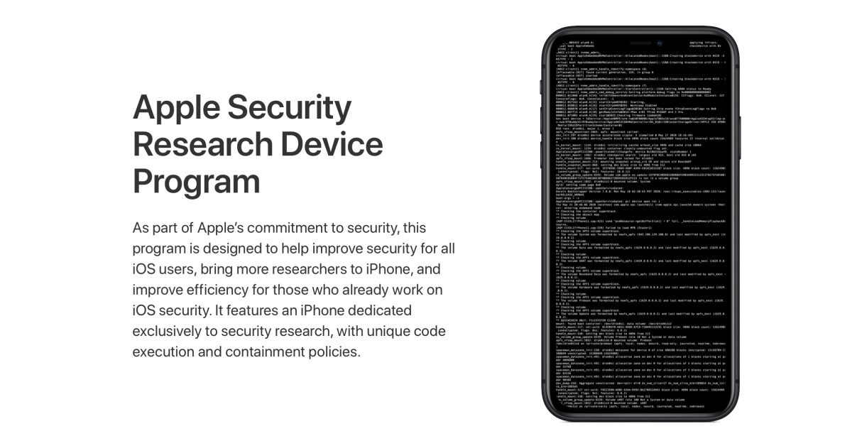 Apple begins shipping 'rooted' iPhones to members of the Security Research Device Program - 9to5Mac