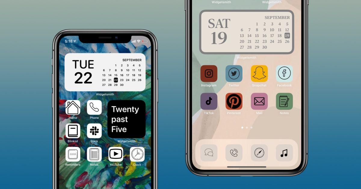 iOS 14.3 beta makes it easier to set custom app icons - 9to5Mac