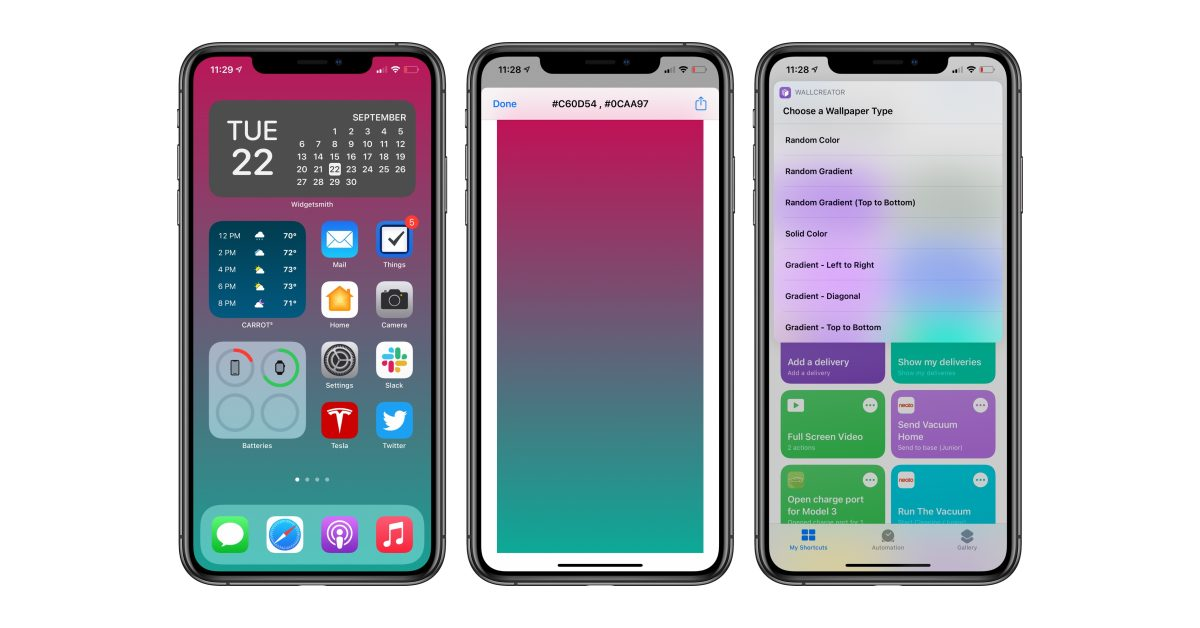 How to create custom iOS wallpapers with Shortcuts - 9to5Mac