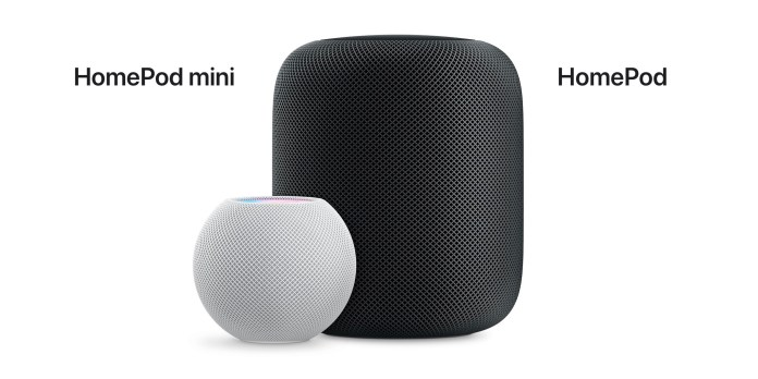 HomePod mini vs HomePod comparison