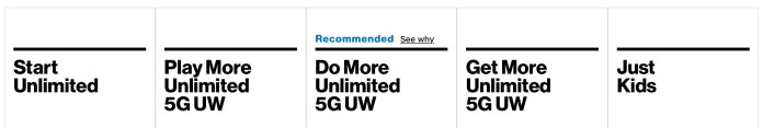 How to change to a 5G Verizon plan