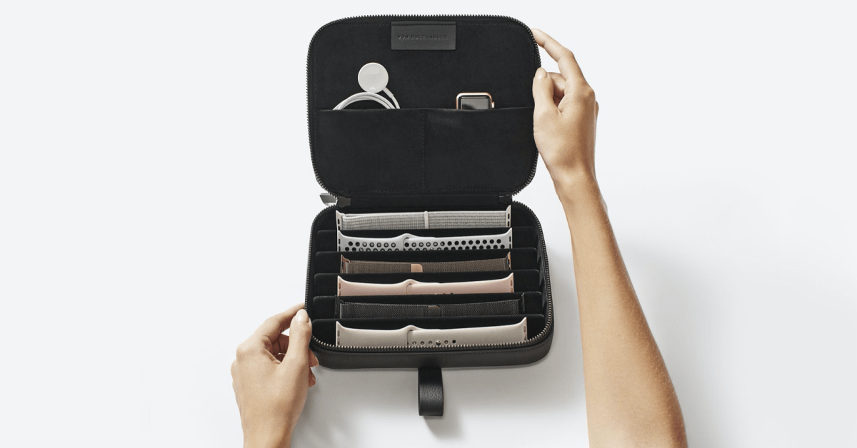 von Holzhausen debuts new vegan-leather Apple Watch and MacBook accessories at Apple Stores - 9to5Mac